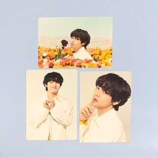(WTT) BTS Love Yourself Tour Japan Taehyung Mini Photocards