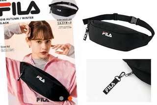 日本雜誌附錄 Fila 多用途 腰包 waistbag