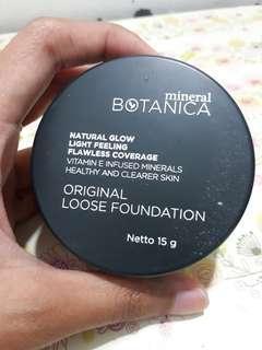 Preloved Mineral Botanica Original Loose Foundation shade Light