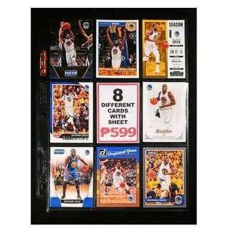 Draymond Green 8 Different Basketball Cards NBA Champion