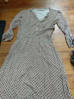 Vintage long sleeve dress