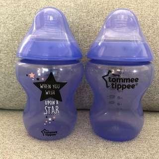 Tommee Tippee COMBO Purple 9oz Bottles (Botol Susu) #MY1212
