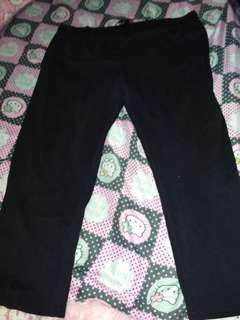 Sm woman plus size 3/4 leggings