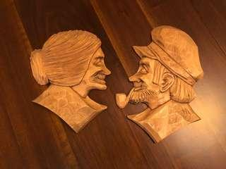 Wood Carvings by Marcel D. Avoine