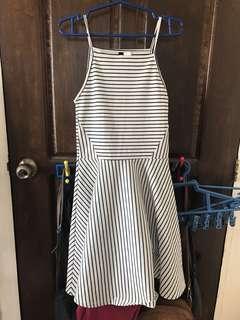 H&M Stripes Halter Dress