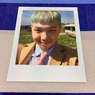BTS YOUNG FOREVER OFFICIAL RM POLAROID