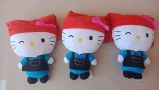 Hello Kitty SG 50 Samsui Woman Stuff Toys