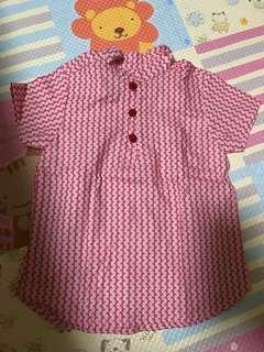 Chinese New Year boys mandarin collar shirt