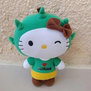 Hello Kitty SG 50 Durian Lover Stuff Toy