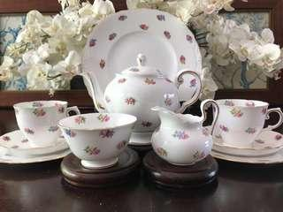 Tuscan Fine Bone China Tea for Two Set