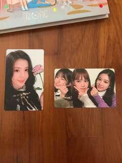 WTS iz*one color*iz photocards pc