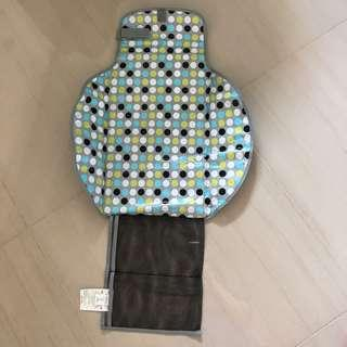 Portable mat for baby changing diapers