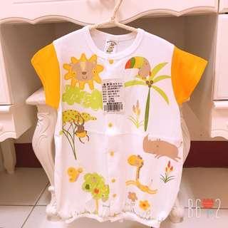 🚚 全新❤️臺灣製 嬰幼兒連身衣 90cm 動物
