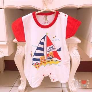 🚚 全新❤️臺灣製 嬰幼兒連身衣 70cm 帆船⛵️