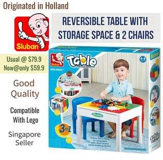🚚 Storage Table ( Reversible )