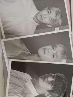 BTS b/w card