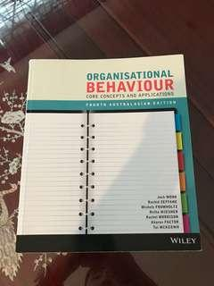 Organisational Behaviour: Core Concepts and Applications Fourth Australasian Edition