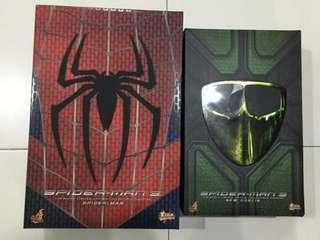 Hot Toys MMS143 & MMS151 - Spiderman and New Goblin Combo