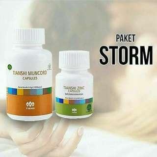 Paket Vitalitas Storm Pria