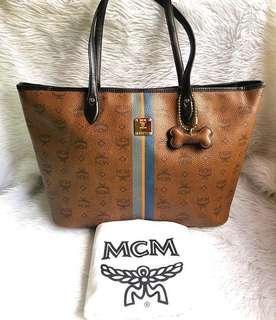 100% authentic MCM tote bag