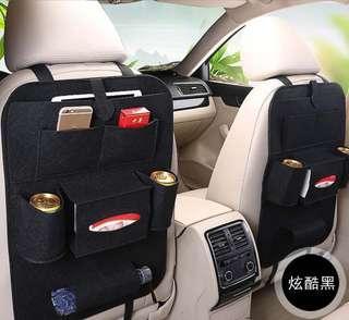 🚚 🔴車用椅背袋 多功能 汽車座椅收納 雜物整理袋 儲物袋 保溫袋 保冷袋