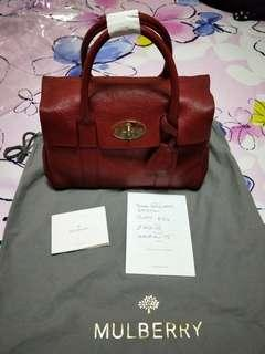 AUTHENTIC MULBERRY POPPY RED
