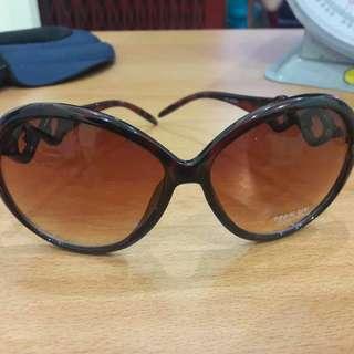 New Kacamata Coklat Keren Modis Fashion Import Bahan Bagus