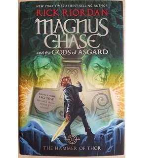 (Hard Cover) Magnus Chase and the GODS of ASGARD