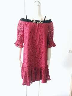 🚚 MOMA 蕾絲洋裝
