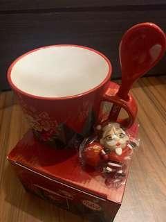 🚚 KFC肯德基爺爺 杯緣子 金勾杯組 聖誕節造型