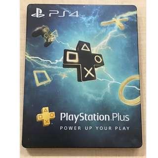 Playstation Plus 宣傳 鐵盒steelbook 紀念品