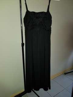 Black Formal Dress Size L