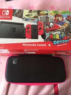 Nintendo Switch Super Mario Odyssey Limited editions