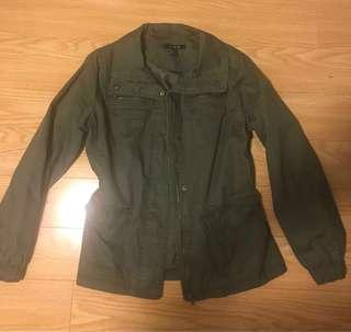 Green Utility Jacket Size (L)