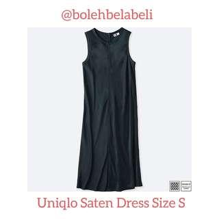 Uniqlo Saten Silk Dress