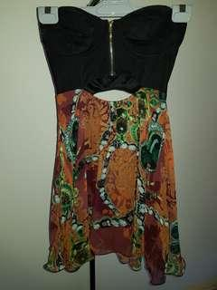 Petite Summer Semi Formal Party Dress Size 8