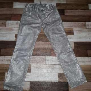 Glitter Jeans Girl Size 6 GAP Kids