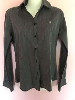 BLACK STRIPE ARROW SHIRT
