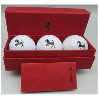 {HK 藏珍舖} 法拉利 高爾夫球 Ferrari Design - Professional Golf balls with Ferrari logo w/Box