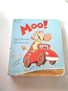 Moo kids story book