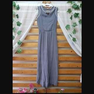 Sumbangin - Jumpsuit Grey Sleeveless