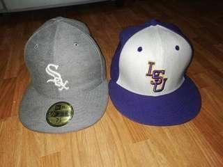 Original New Era &  Nike Lsu Caps