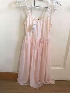 Forever 21 light pink dress