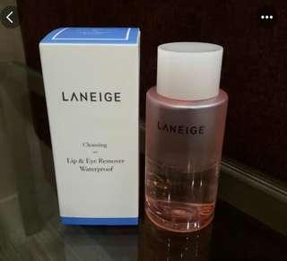 Laneige 淨透眼唇卸妝油 150ml Lip and eye Remover waterproof Cleaning