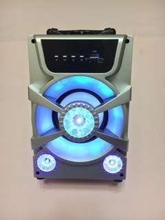 🚚 高低音立體聲藍芽喇叭(High bass stereo Bluetooth speaker)