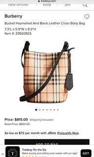 Burberry Bag New