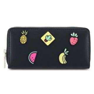 BN Black Long Wallet