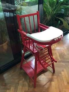 French brand high chair