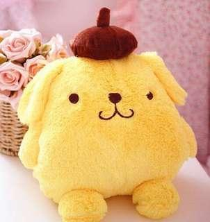 BN Pompompurin 2 in 1 Hand Warmer + Cushion
