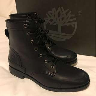 Women Timberland Black Leather Boots